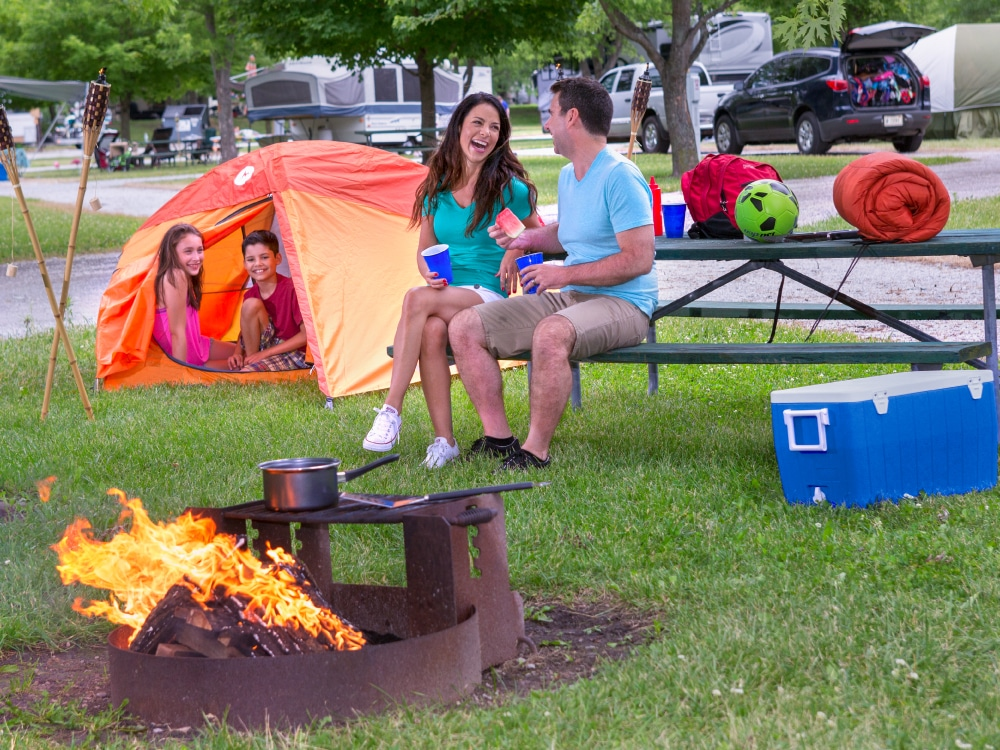Indiana Beach Campground - family camping