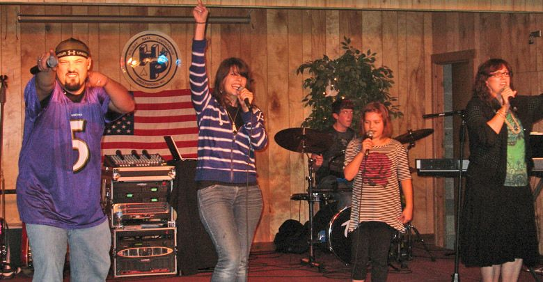 Holiday Park Campground - gospel singing