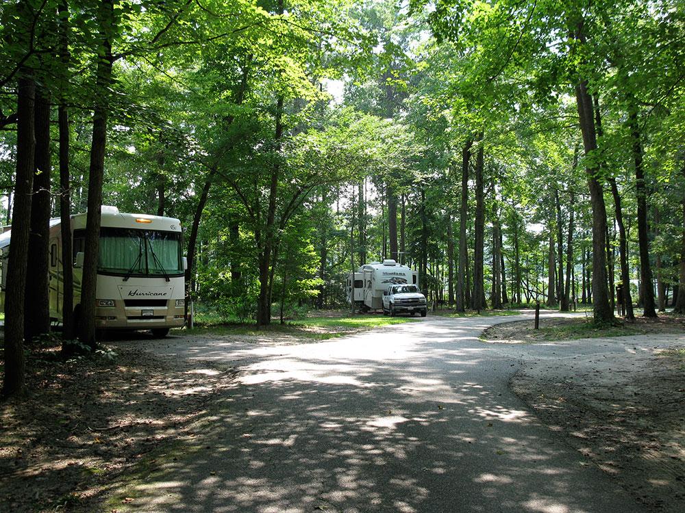 Newport News Park Campground - rv sites
