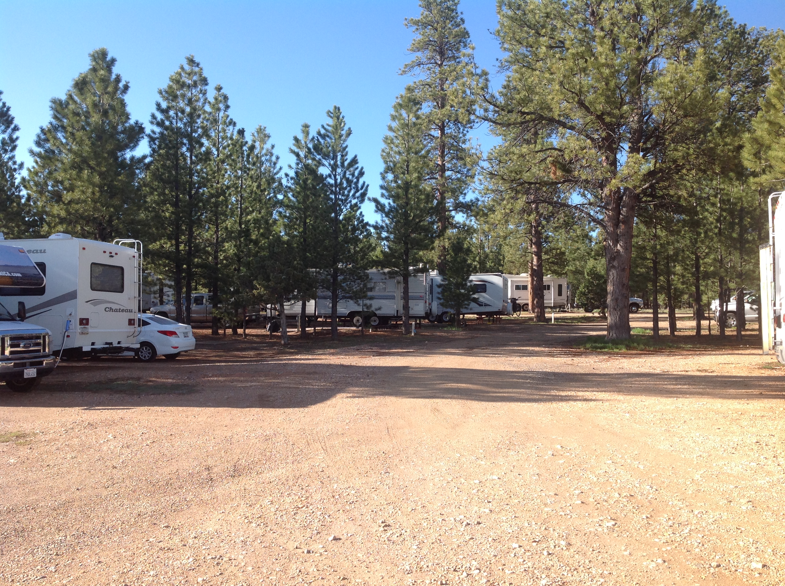 Bryce Canyon Pines RV Park - RV sites