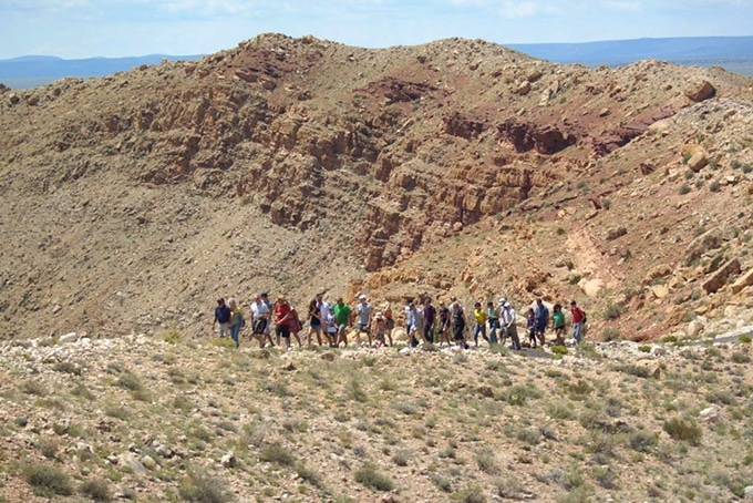 Meteor Crater RV Park - Guided Rim Tour