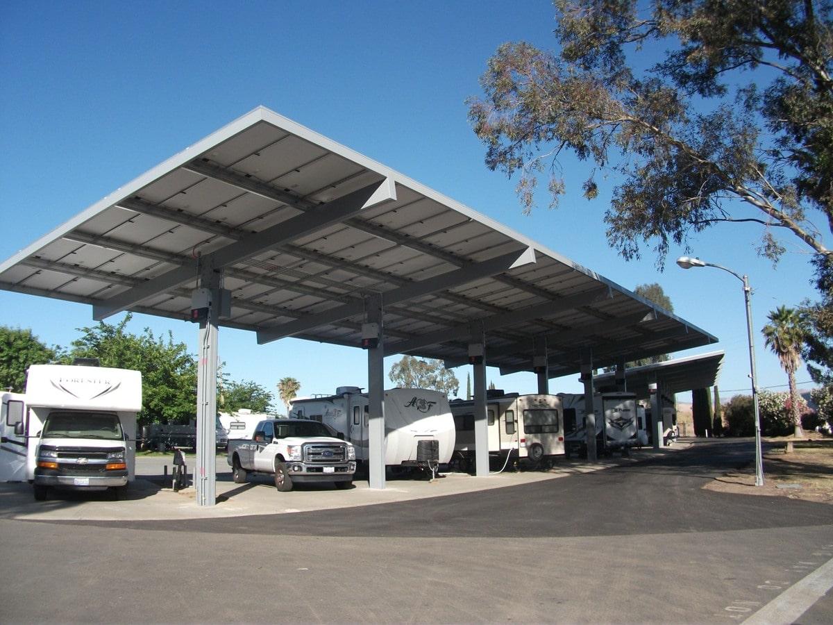 Santa Nella RV Park - solar rv parking