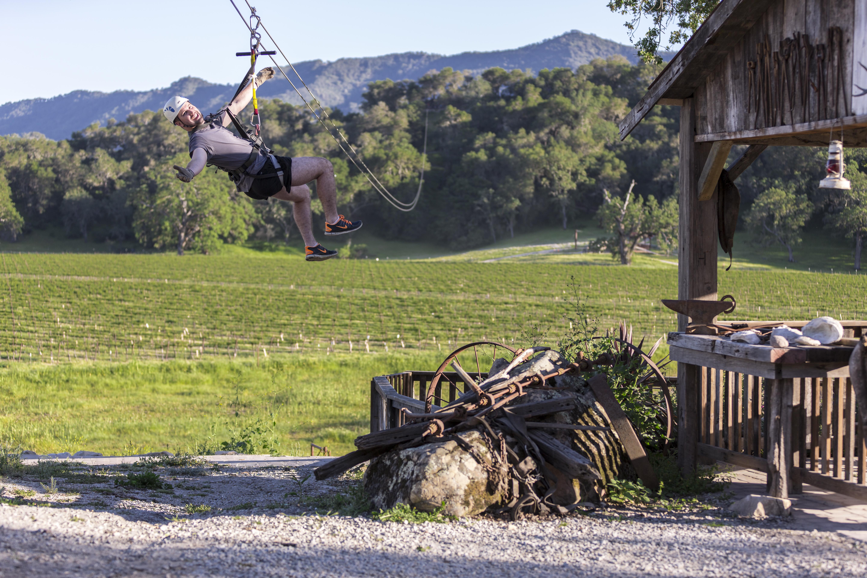 SLO CAL - ziplining