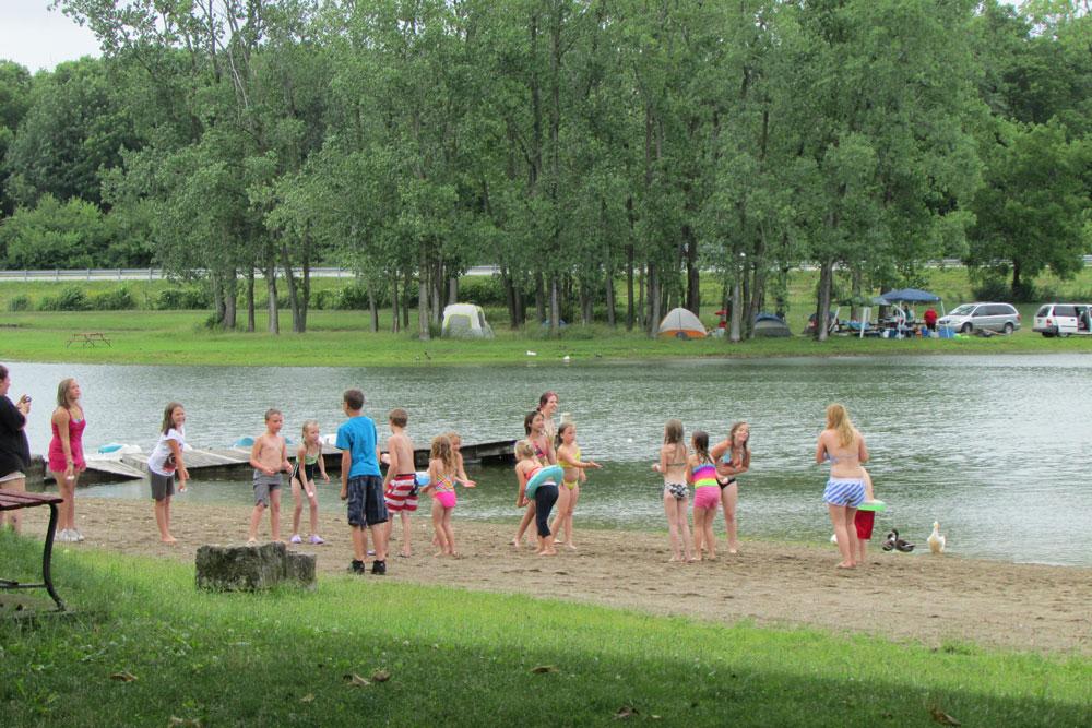 Enon Beach Campground