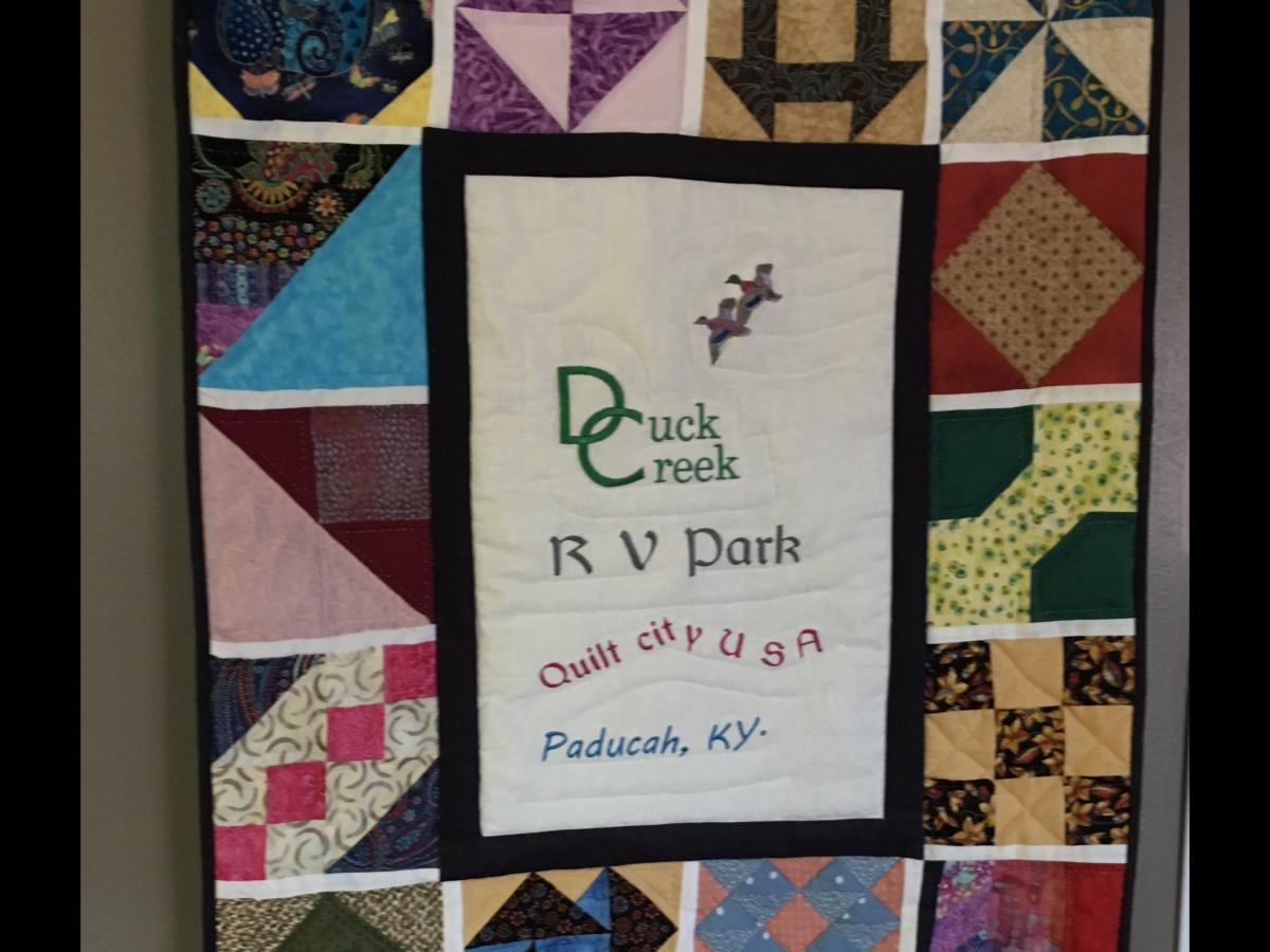 Duck Creek RV Park - quilt