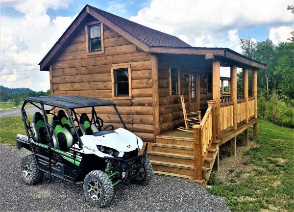 Southern Gap Outdoor Adventure RV Park - ATV at cabin