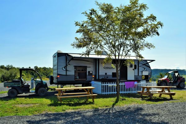 Southern Gap Outdoor Adventure RV Park - rv at site