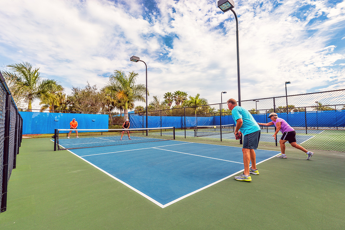 Sunland - Silver Palms - pickleball court