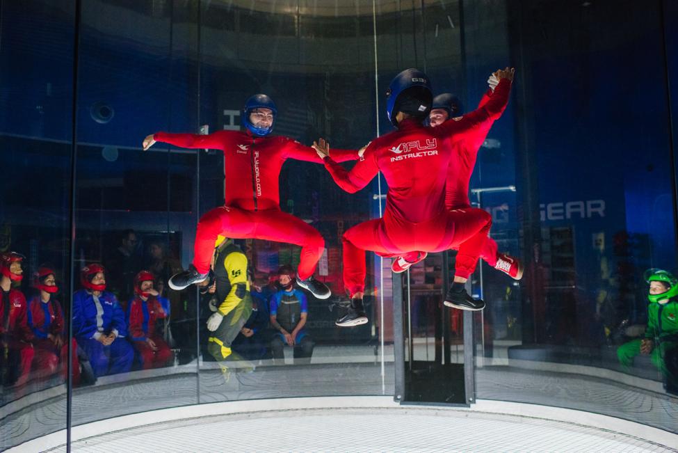 Rayford Crossing RV Resort - iFLY Indoor Skydiving