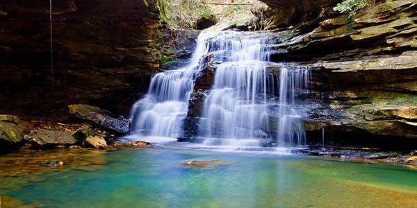 Mize Mills waterfall