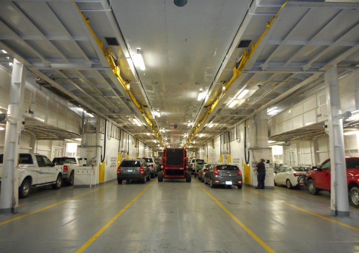 Owen Sound Transportation - ferry cargo