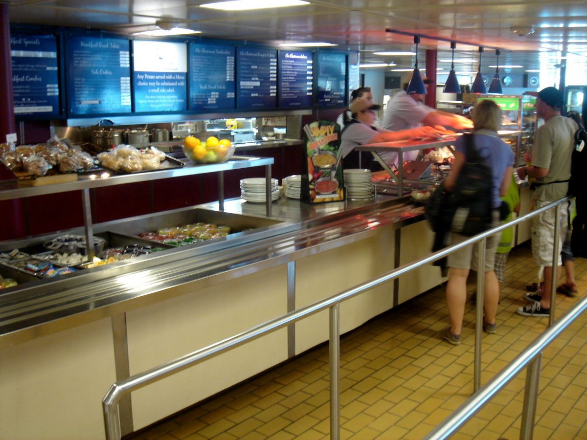 Owen Sound Transportation - cafeteria