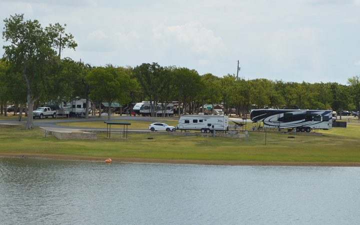 The Vineyards Campground & Cabin Rentals - shores of Lake Grapevine