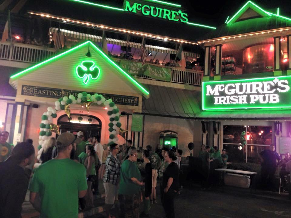 Pensacola Beach RV Resort - McGuire's Irish Pub
