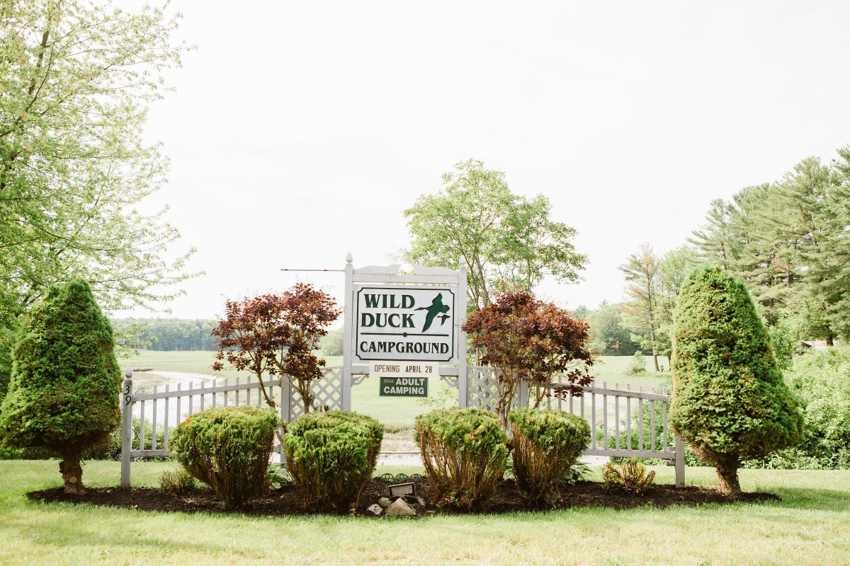 Wild Duck Adult Campground & RV Park - signage