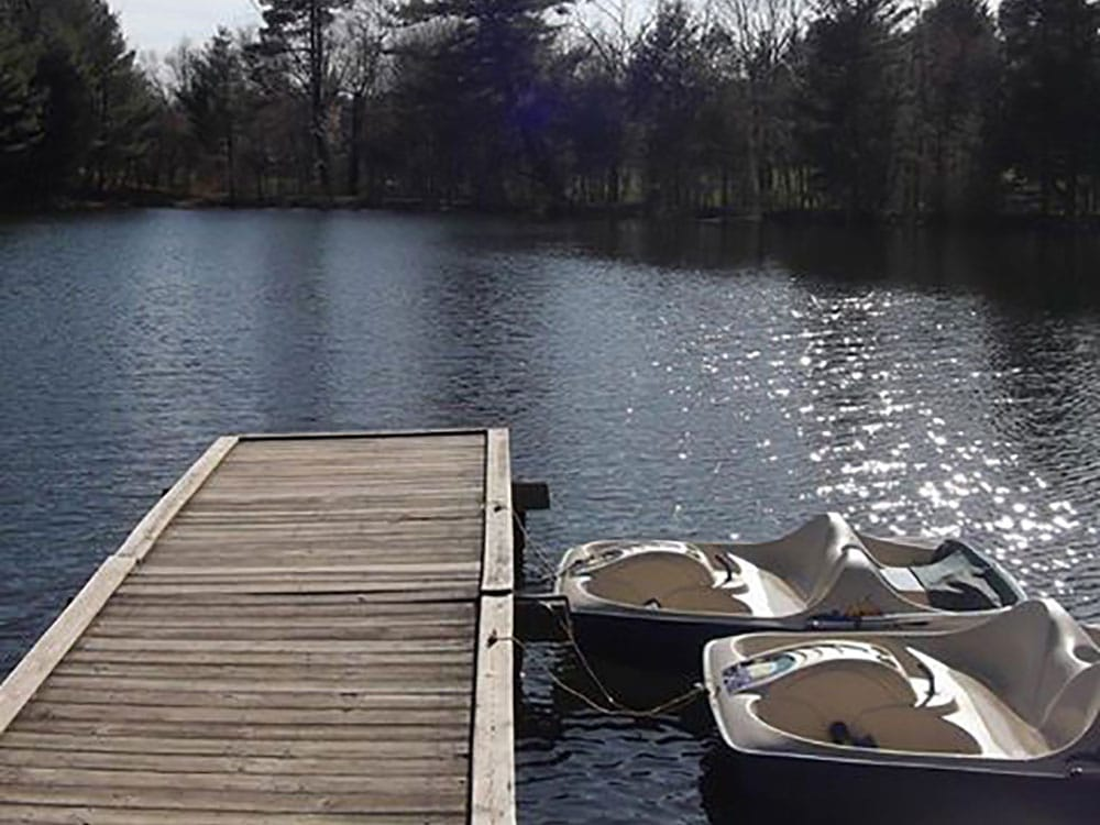 Woodland Campground - dock