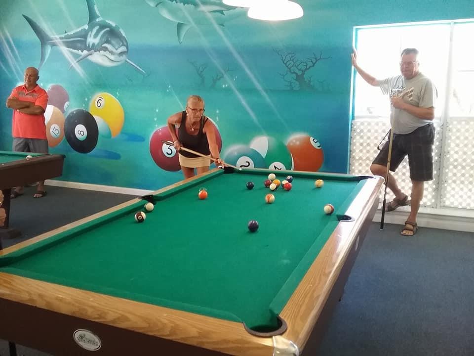 Boardwalk RV Resort - pool table