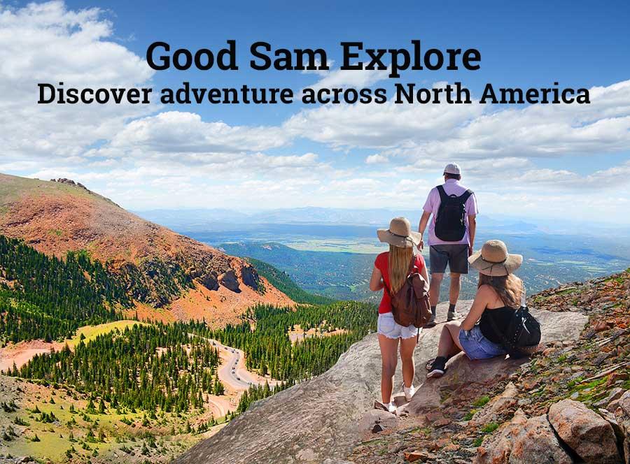 Explore Destinations Hiking Image