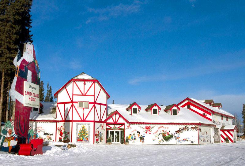 Santa Claus House - store