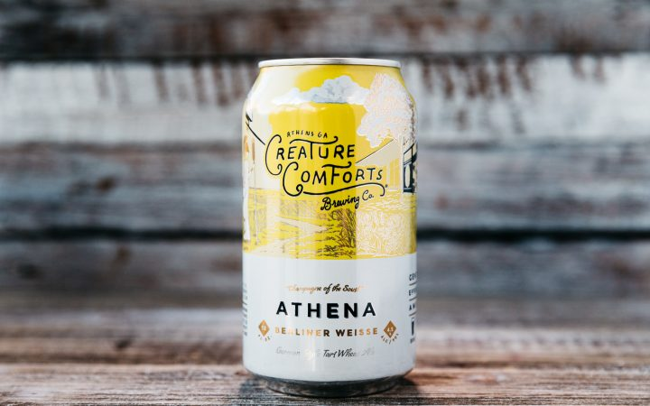 Creature Comforts Athena - Craft Beer Can