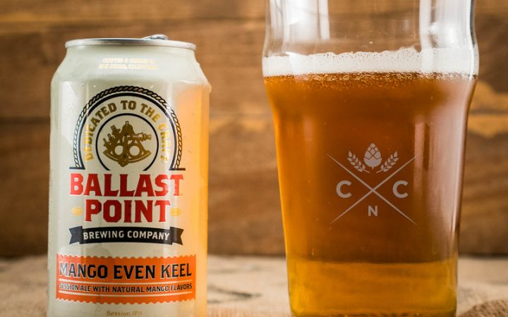 Mango hinted beer in can by Ballast Point