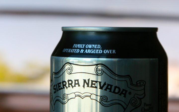 Sierra Nevada beer can