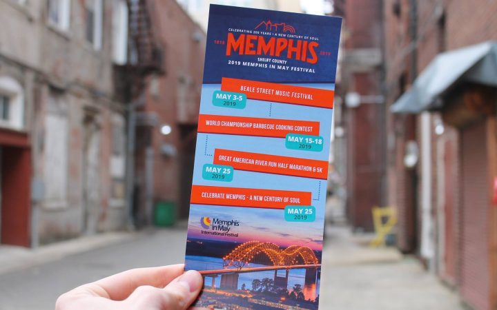 Memphis in May 2019 pamphlet