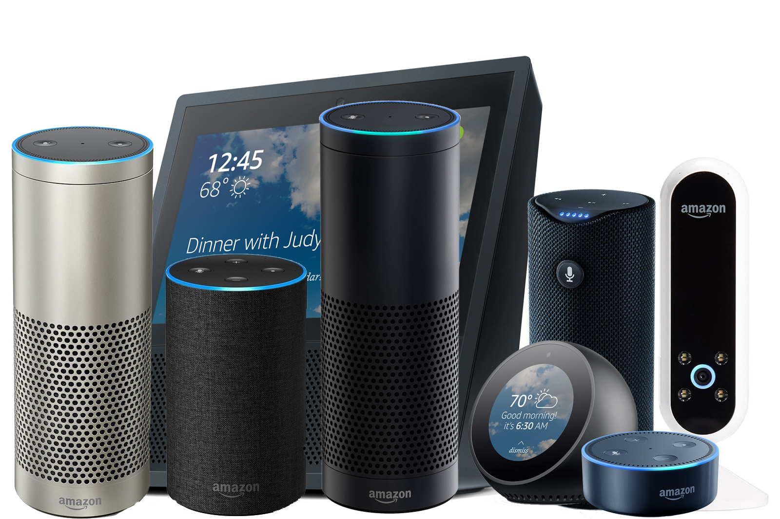 All of Amazon's Echo line of products