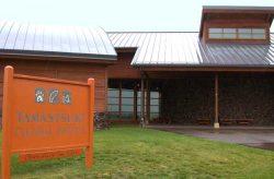 Tamastslikt Cultural Institute front entrance.
