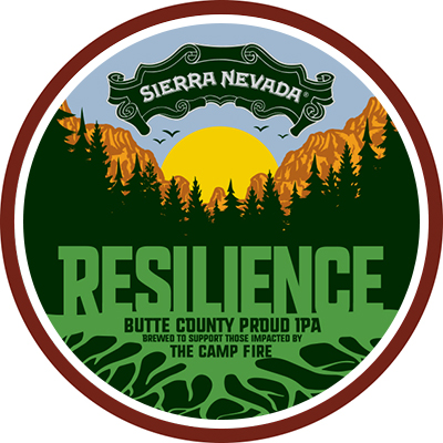 Resilience IPA beer badge