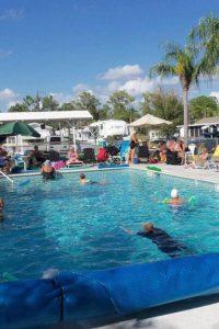 Pool at Sun N Shade RV Resort wi