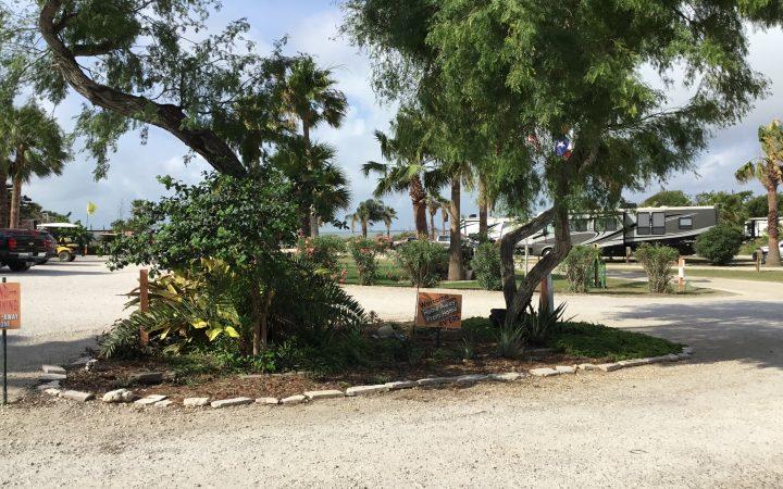 Open RV site at Sea Breeze RV Park