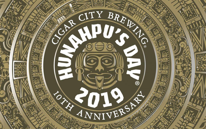 Hunahpu's Day 2019 logo