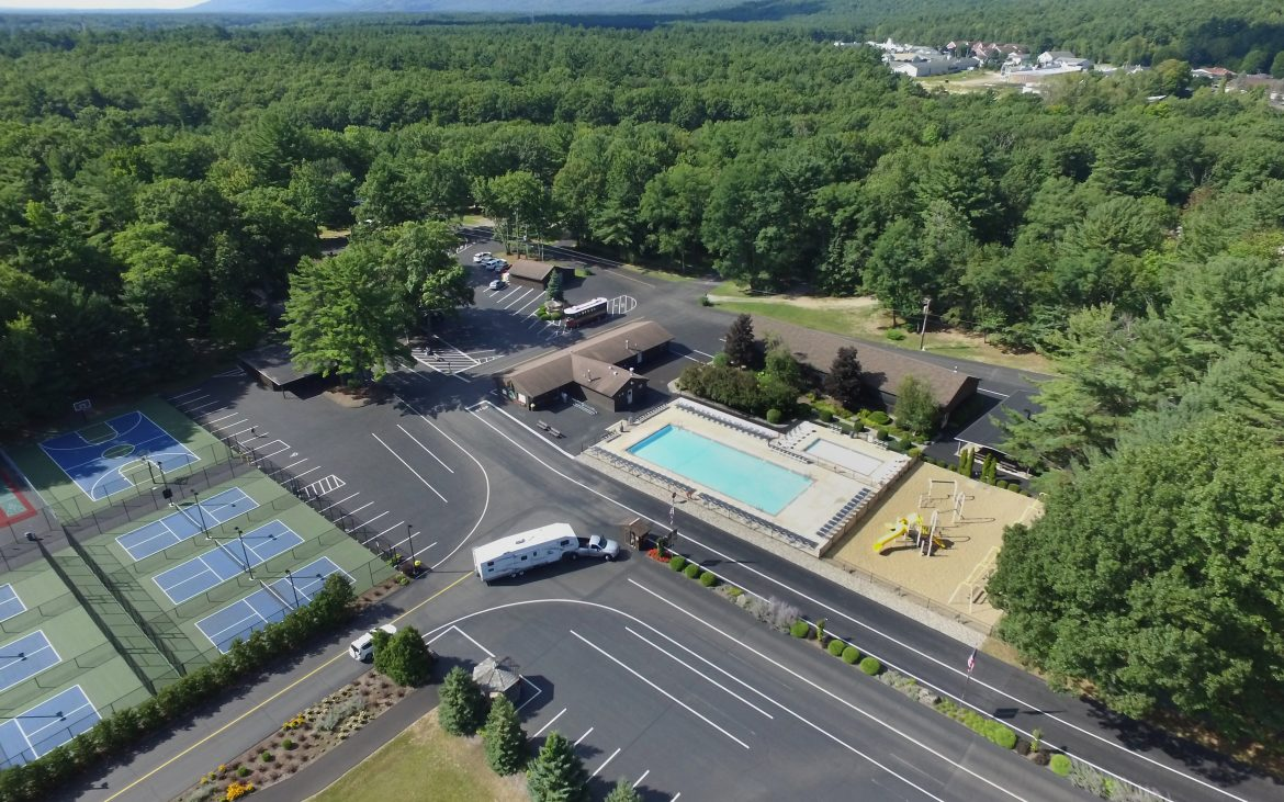 Parking and Water recreation portion of RV Park
