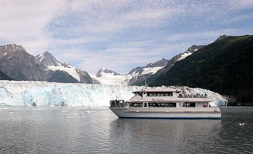 Stan Stephens cruise through the Prince William Sound Alaska
