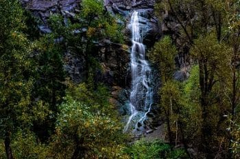 Bridal Vail Falls in Spearfish canyon South Dakota