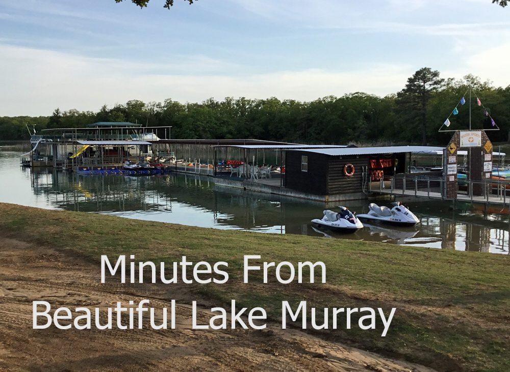 Watercraft floating on dock