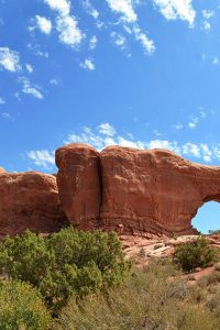 One of the formations of Arches National Park.