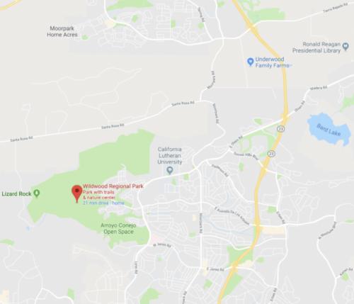 Image of Wildwood Regional Park via Google Maps