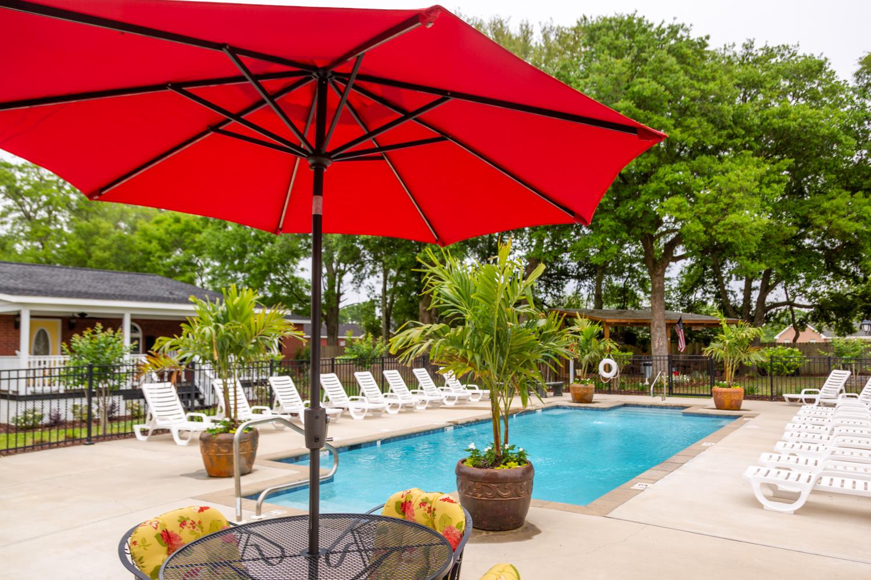 Clean resort style community pool