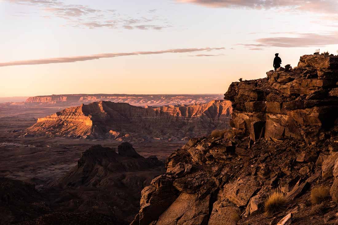 Overlooking the Grand Staircase Escalante National Monument.