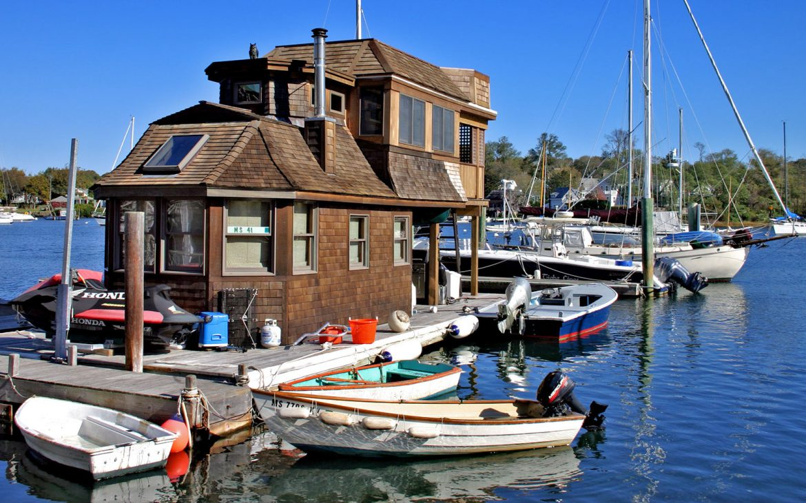 Boats and building on the water