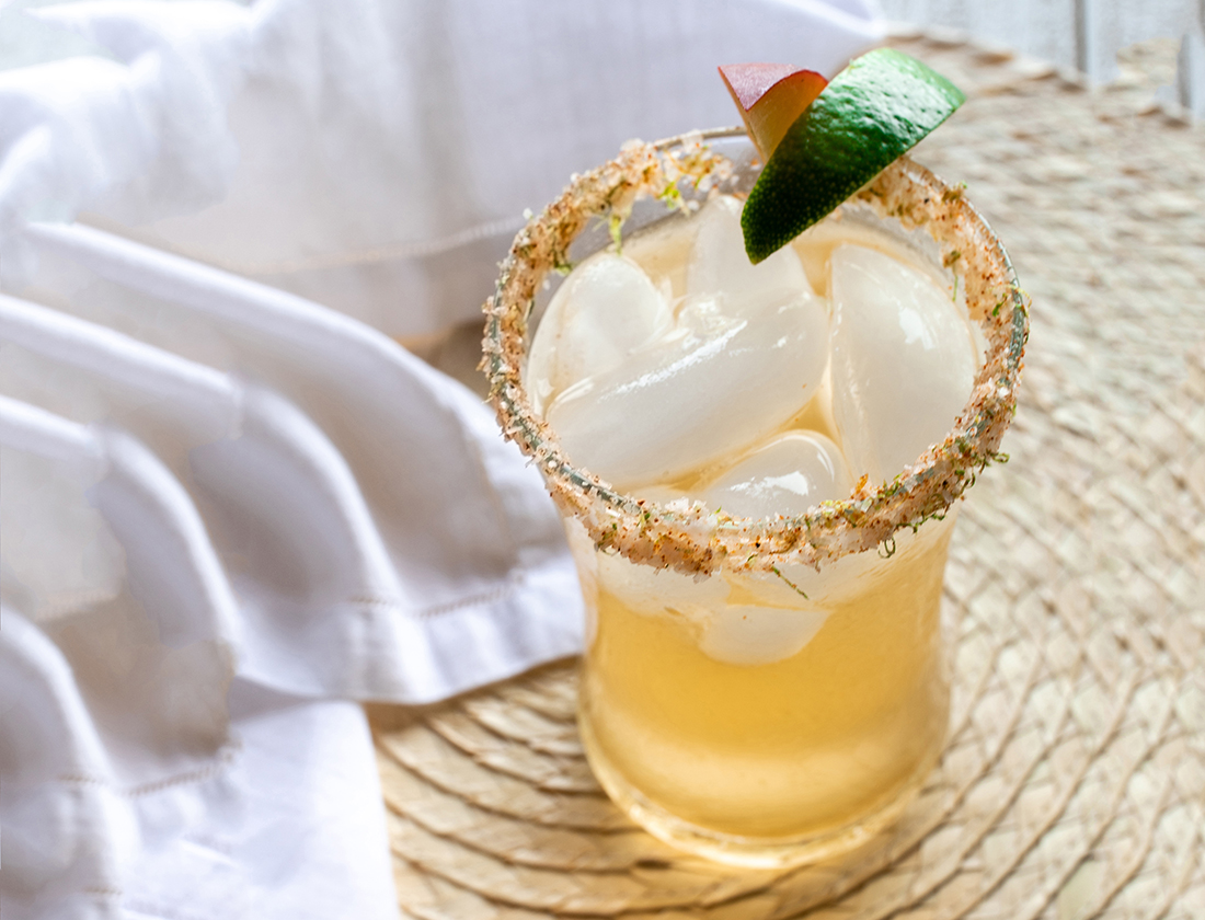Sweet Chill 'o Mine: Peach margaritas bring sweetness and refreshment to your camping.