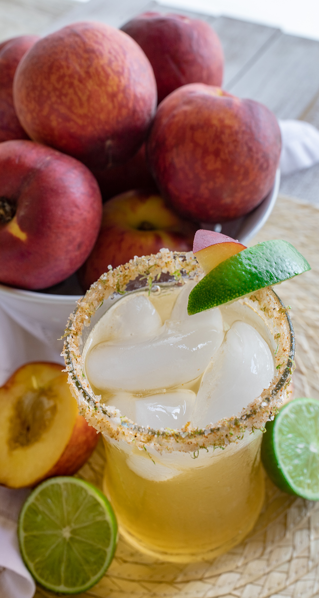 Sweet and spicy flavors abound in this margarita recipe.