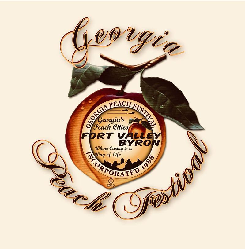 Sample peak peach flavor at the Georgia Peach Festival.