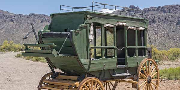 Old Western Stage Coach
