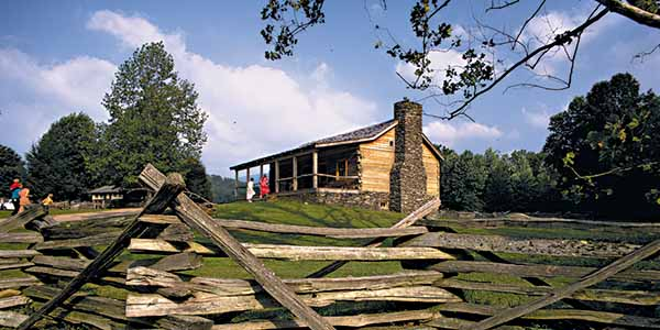 A homestead sheds light on pioneer living in Smoky Mountain National Park.