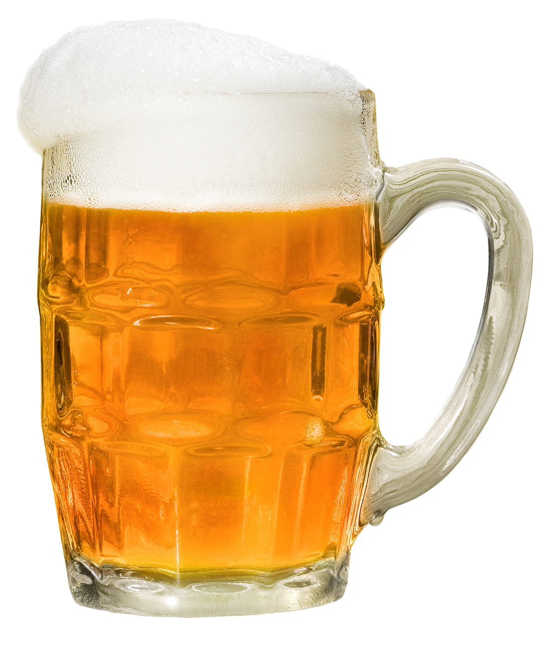 A big icy glass of beer.