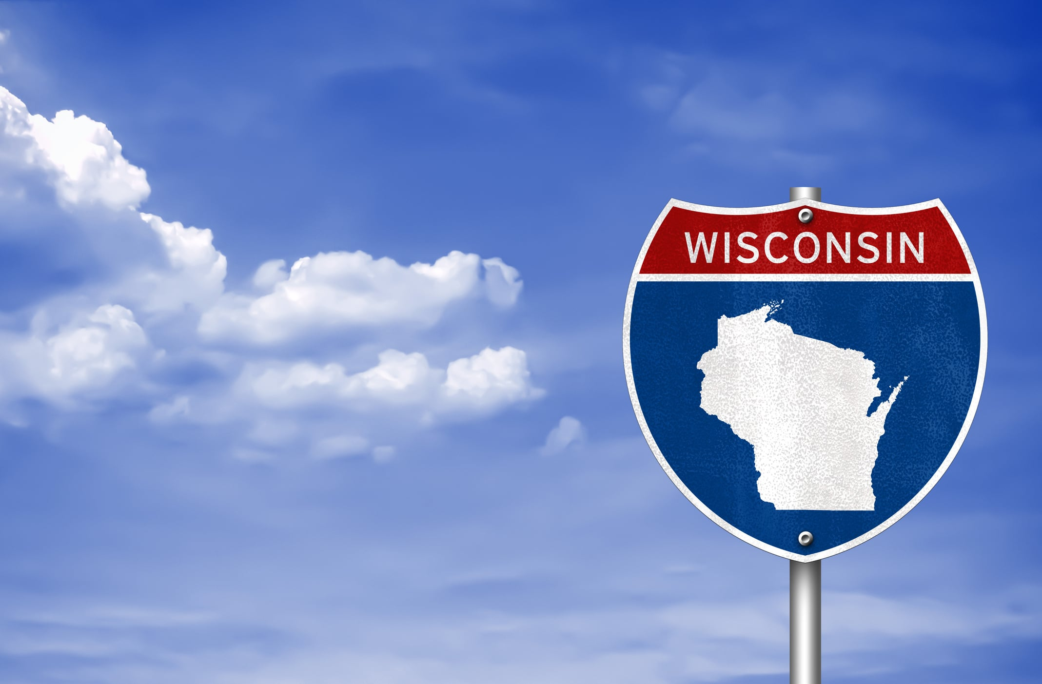 Wisconsin Road Sign