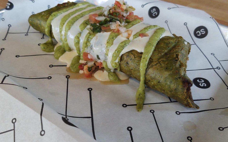Chimichanga w Carne Asada burrito